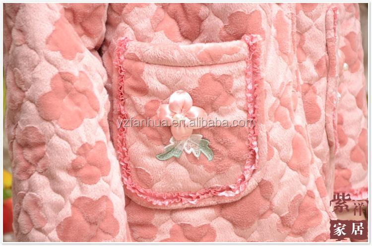 Cheap Wholesale Adult Arabic Warm Fleece Heated Pajamas