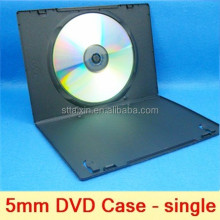 guangdong black single 5MM dvd case