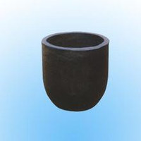 china supplier graphite crucible/metals melting pot for metals melting