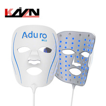 blue light therapy anti acne pdt led facial mask