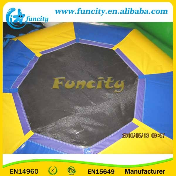 Factory Price Steel Spring Inflatable Water Trampoline For Sale
