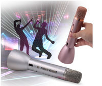 High sound quality K088 Wireless free power Microphone with recording