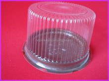 Factory PVC cake box high dome