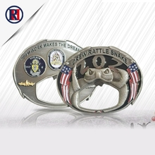 2017 Eco-Friendly Feature high quality custom Cheap metal 3D bottle opener