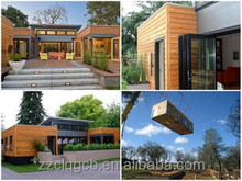 Modern designing houses prefabricated/prefab modular home project