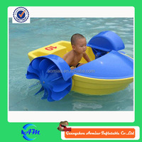 kids hand paddle boat swimming pool paddle boat for sale inflatable hand cranking boat
