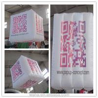 new design event decoration inflatable ,Light Inflatable Hanging Decorations ,inflatable cube deceration