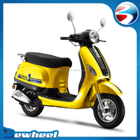 Bewheel cheap gas scooter 125cc for adults motorcycle wholesale