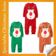Wholesale kids christmas outfits children christmas clothing manufacturers SFUC-006