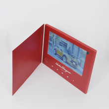 5 inch LCD screen Video Business Card for promotion Video Advertising Card MP4 Greeting Card
