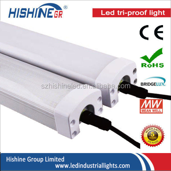 Microwave Sensor/Dimmable 5ft 80W LED Batten Light waterproof IP65