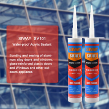 General Purpose Water Based Excellent Paintable Acrylic Silicone Sealant