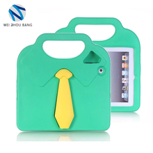Customized silicone PC shockproof protective case for ipad 2 3 4