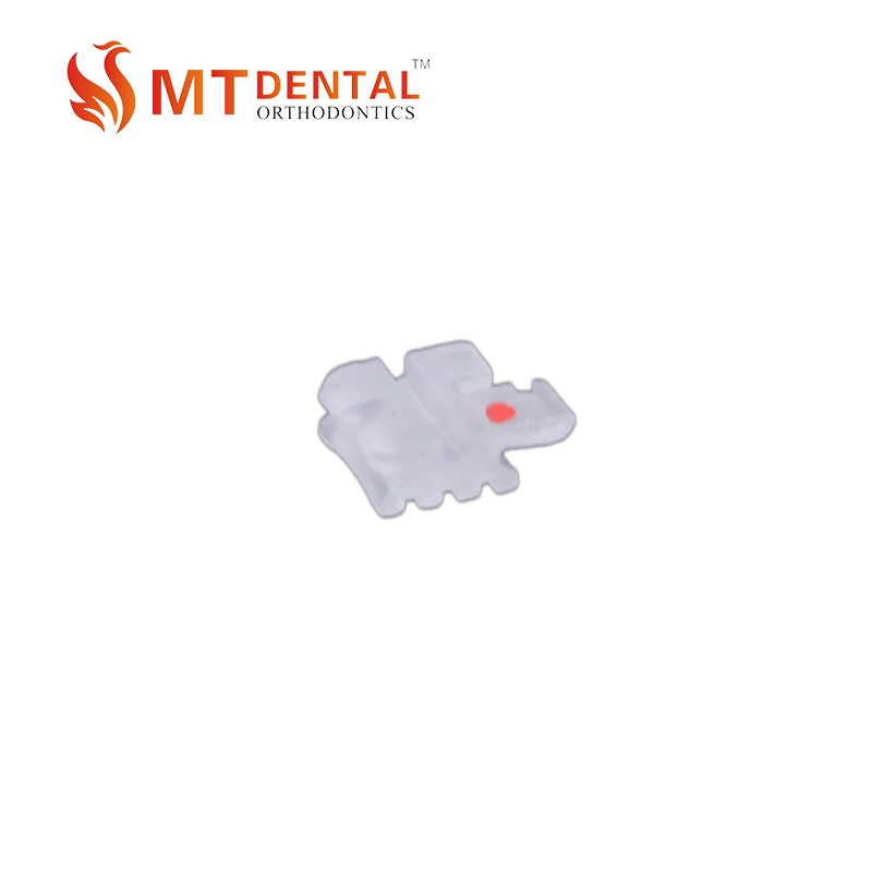 Dental orthodontics ceramic clear bracket/braces