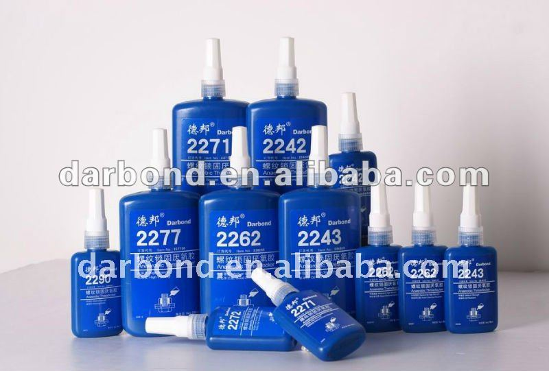 2262B Anaerobic threadlocker for inert material