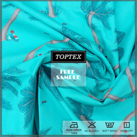 100 % custom printed cotton fabric for men's shirt