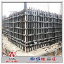 adjustable steel modular formwork for concrete wall