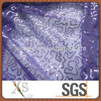 2015 Spangles Embroidered Fabric 5mm Shiny Sequin Fabric