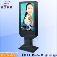 2014 hot sell! pop floor stand network lcd advertising board hd sexs video
