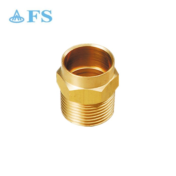 Good price lead free c46500 copper cUPC brass pipe fitting reducer types C X M adapter