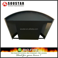 Modern cheap led fireplace wall mounted