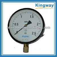 1.5''(40mm) Industrial general bottom connection pressure gauge