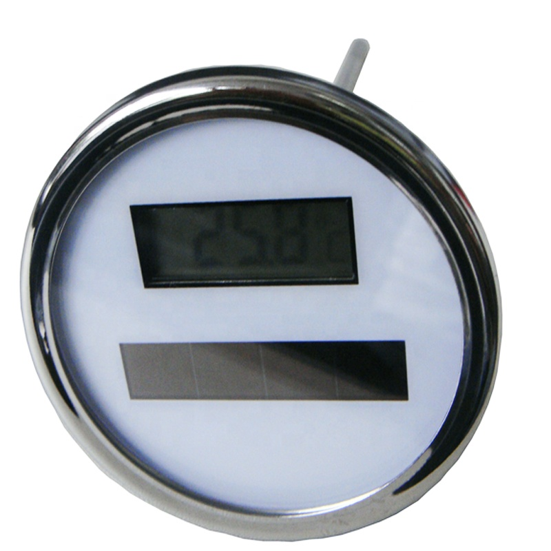High accuracy digital thermometer with stainless steel probe