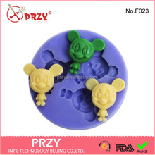 Decorative Silicone Mickey Mouse fondant mold
