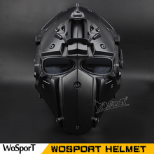 WoSporT DIY Assembling Unique WST Helmet with NVG Shroud and Transfer Base for CS Airsoft Paintball