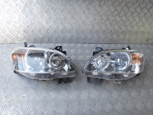 USED JDM HID Xenon Headlights Lights Lamps OEM for 04-06 MPV LW Series 2 V6