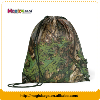 Custom eco-friendly printed sport drawstring bag for shoes