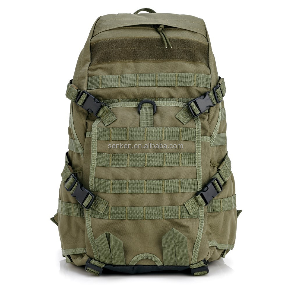 Molle Solid Nylon Sport travel Bags Military Army Mochila
