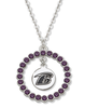 Rhinestone NFL Team Logo Baltimore Ravens Charms Chain Necklace Wholesale