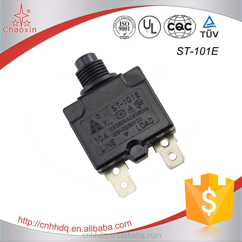 ST-101E Air Compressor Push Reset Circuit Breaker
