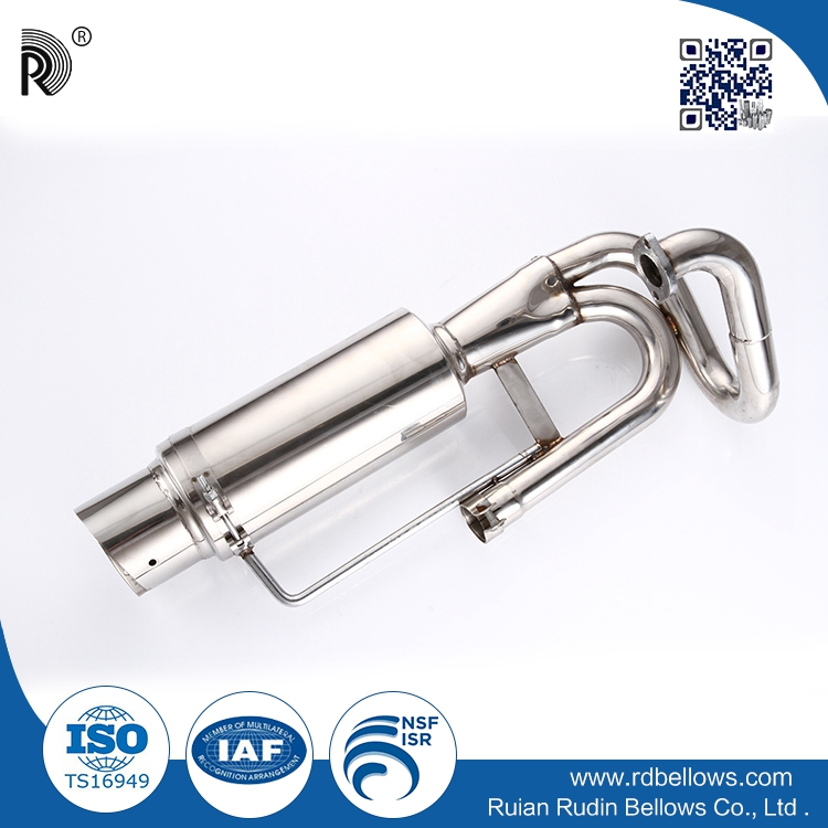 High quality durable car stainless steel 304 titanium exhaust tips