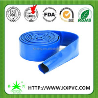 Agricultural irrigation reinforced pvc lay flat pipe