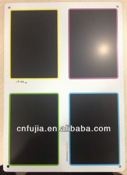 metal blackboard, customized chalk blackboard