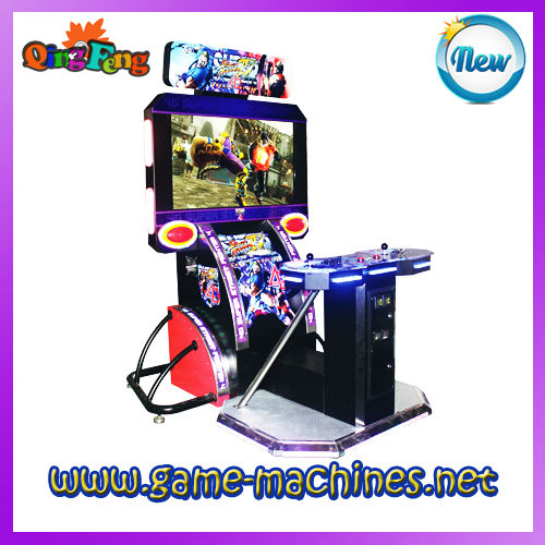 Simulator 4D Street Fighter IV arcade video game system wholesale