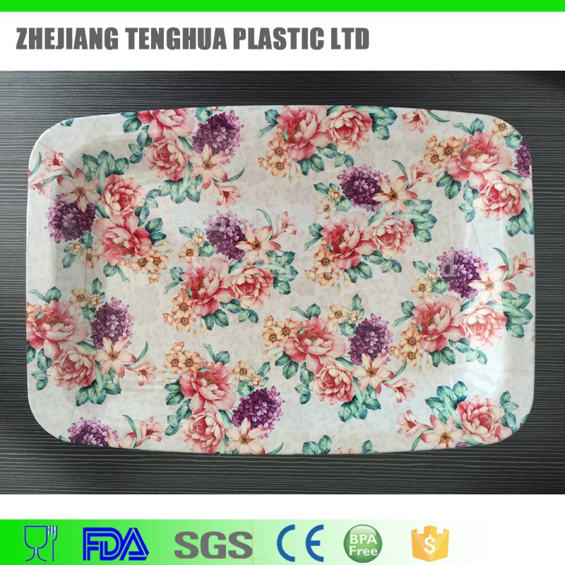 china manufacturer cheap plastic plate food tray dinner plate/dish