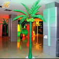 bulk sale cool ornamental palm led light green tree -housing decoration