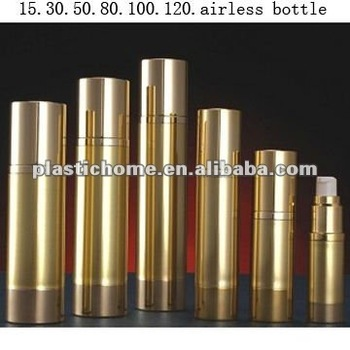 golden airless bottle
