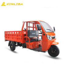 Factory supplier 3 wheels cabin cargo tricycle for sale