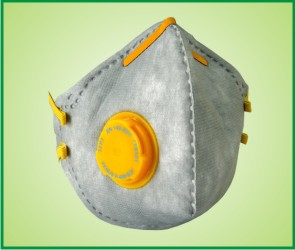 Fold Flat style Particulate Valved Respirator
