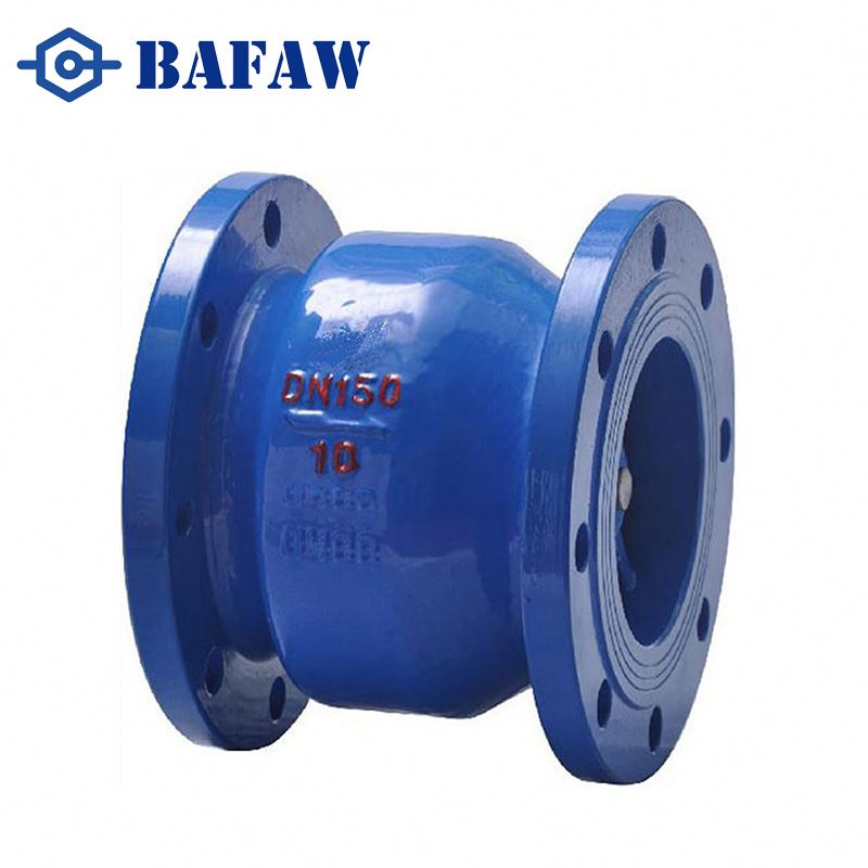 Competitive prices OEM sanitary ductile cast gray iron double plated wafer check valve