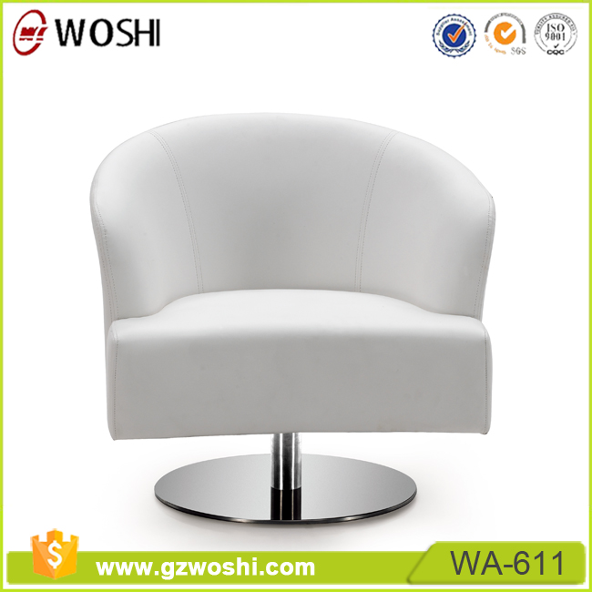 Classroom Genuine Leather Upholstered Dining Chair