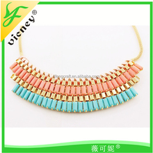 gold chain necklace Ladies Fake Jewelry Necklace Collar