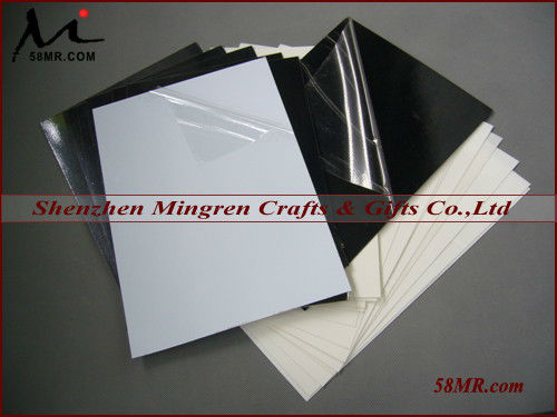 0.2MM,0.3MM,0.5MM,0.8MM,1.0MM Black and White Double Sides Self-adhesive Rigid PVC Foam Sheet for Photo Album Book Inner Page