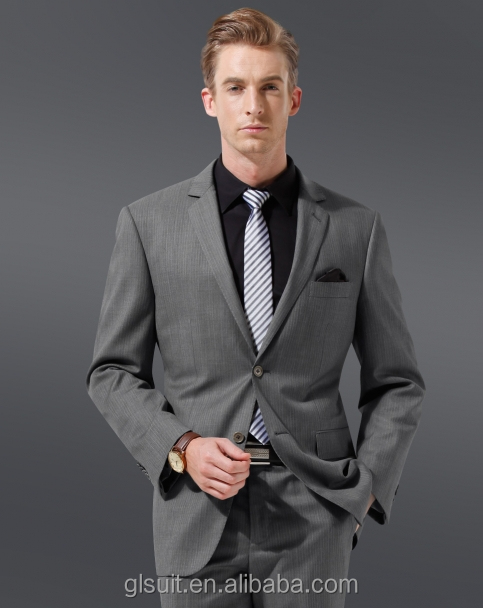 70 Wool Two Buttons Notch Lapel