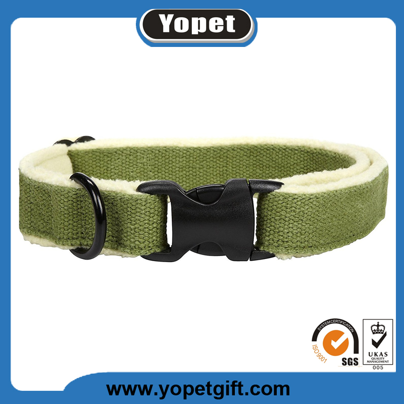 Warm-soft Eco-Friendly Hemp Cotton Dog Collars Leash