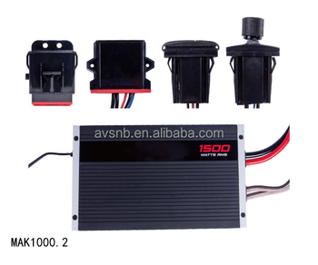 Amplifier Kits Marine and Power Sports Audio System MAK1000.2